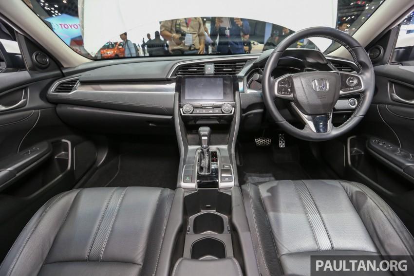 GALLERY: 2016 Honda Civic at Bangkok Motor Show Image #463983