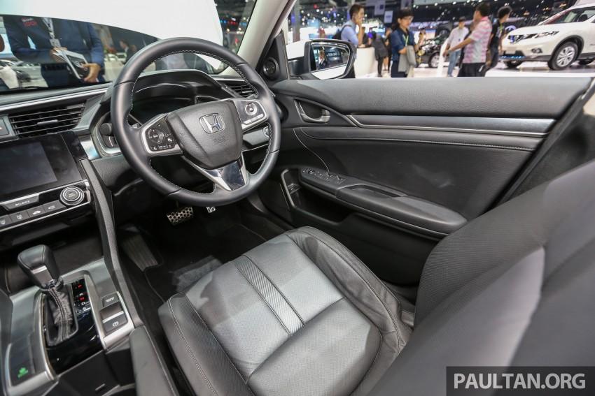 GALLERY: 2016 Honda Civic at Bangkok Motor Show Image #463985