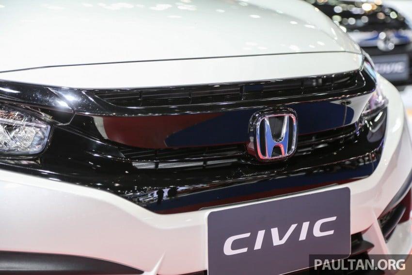 GALLERY: 2016 Honda Civic at Bangkok Motor Show Image #463937