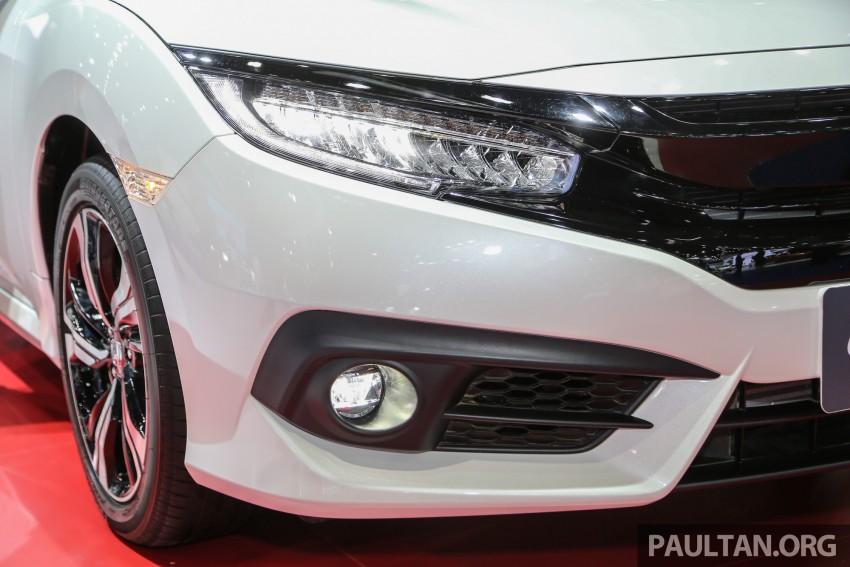 GALLERY: 2016 Honda Civic at Bangkok Motor Show Image #463938