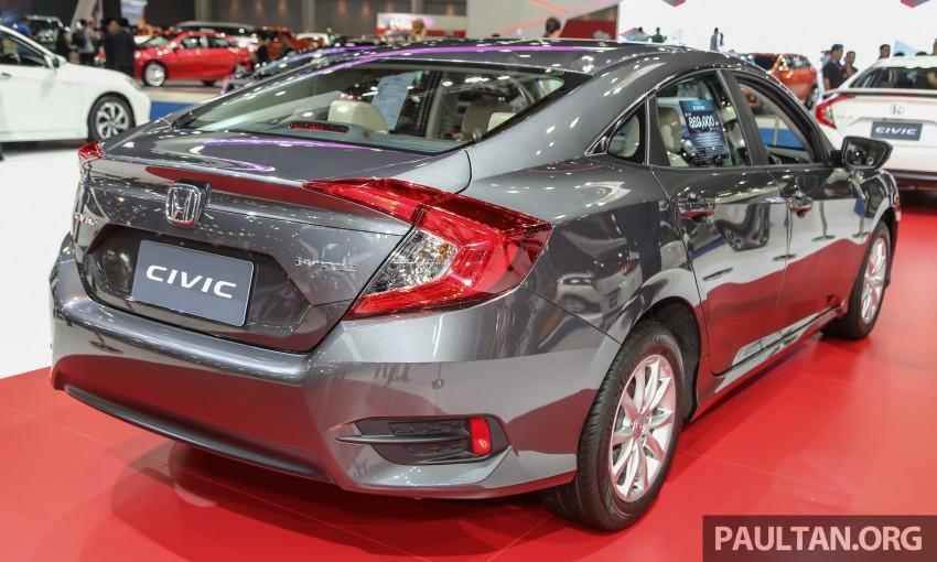 GALLERY: 2016 Honda Civic at Bangkok Motor Show Image #464002