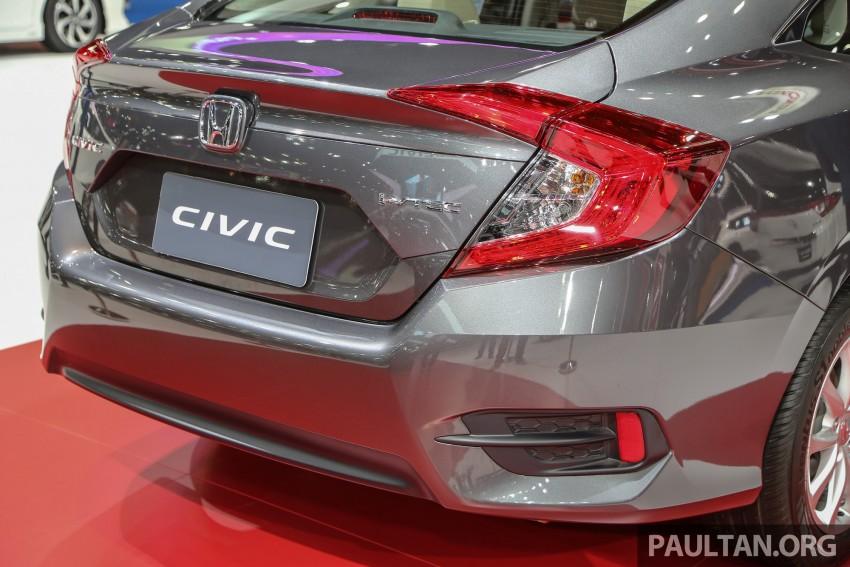 GALLERY: 2016 Honda Civic at Bangkok Motor Show Image #464003