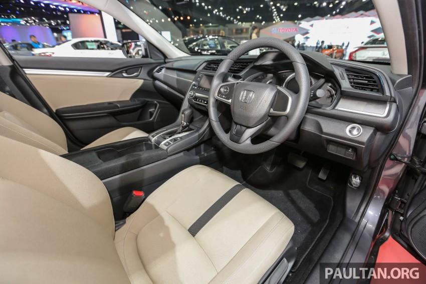 GALLERY: 2016 Honda Civic at Bangkok Motor Show Image #464004