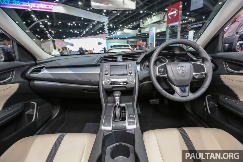 GALLERY: 2016 Honda Civic at Bangkok Motor Show Image #464010