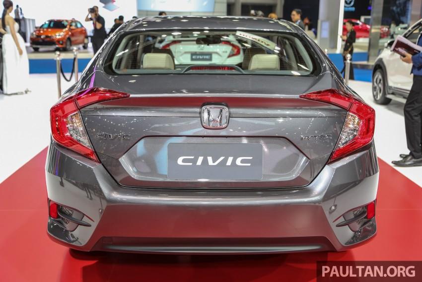 GALLERY: 2016 Honda Civic at Bangkok Motor Show Image #464001
