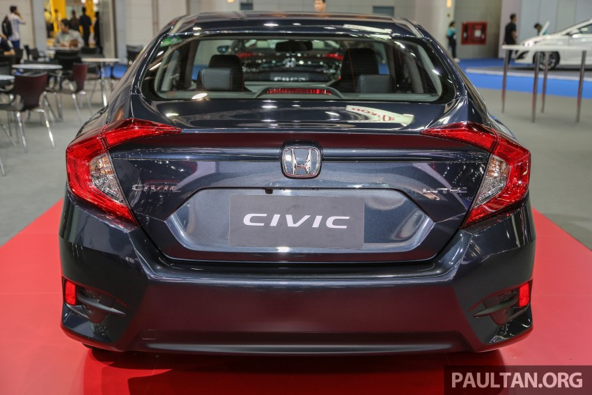 GALLERY: 2016 Honda Civic at Bangkok Motor Show Image #464228