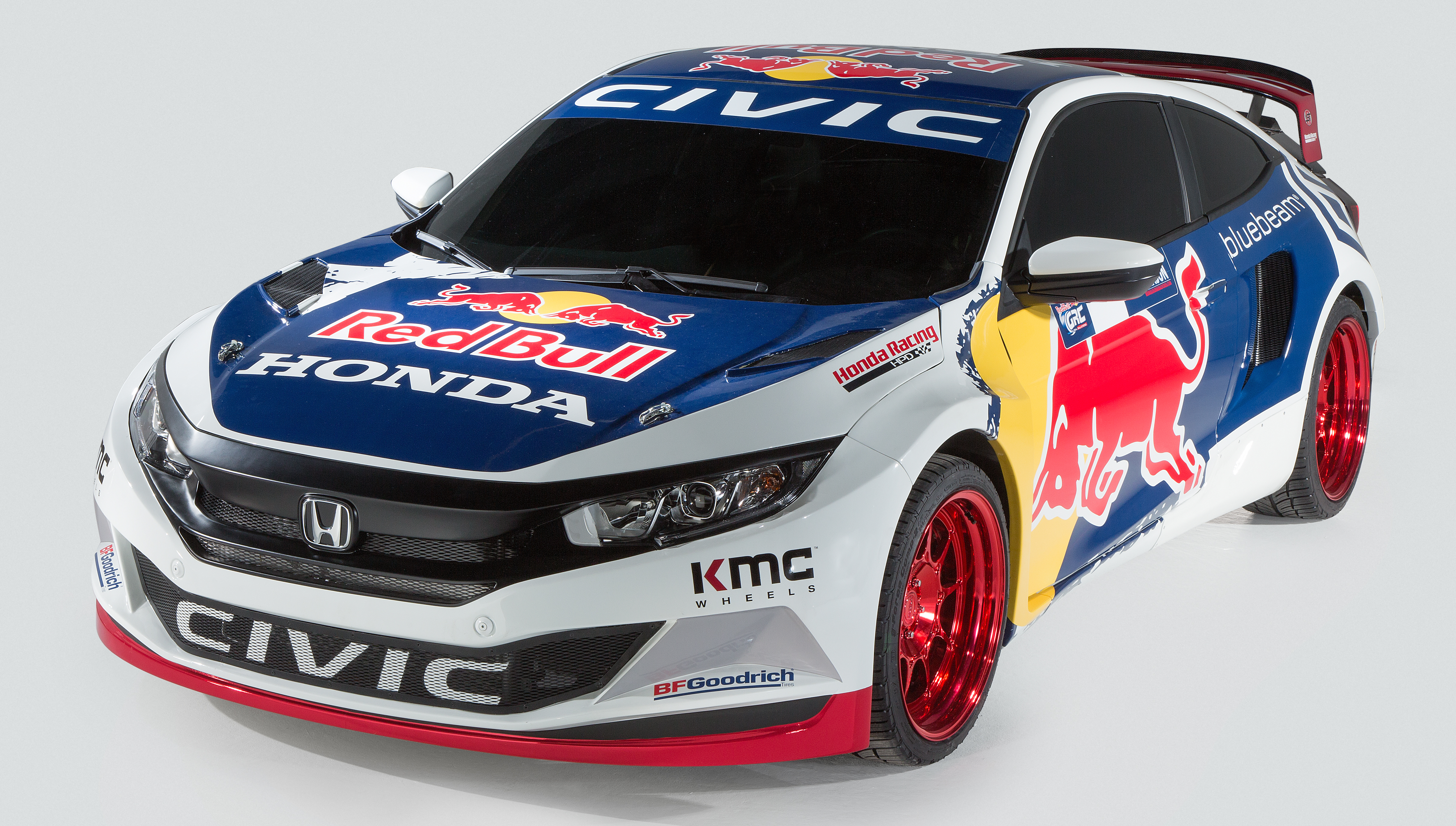 Grc Civic >> 2016 Honda Civic Red Bull Global Rallycross unveiled Image 464853