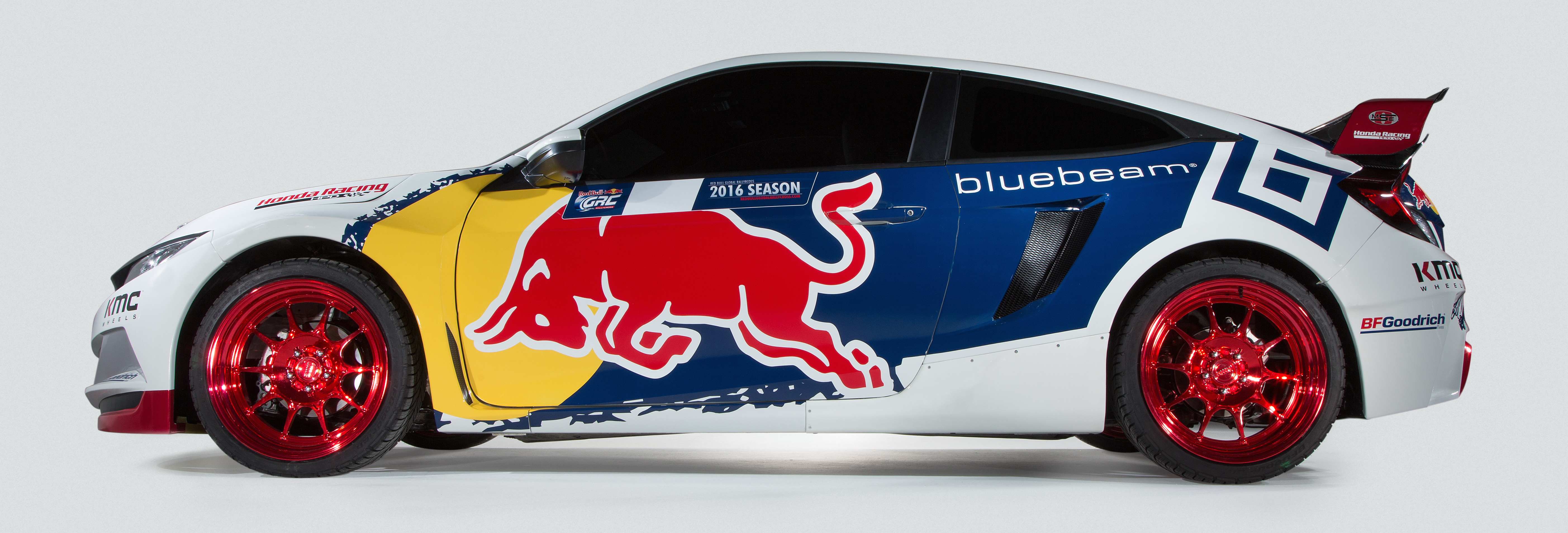 Grc Civic >> 2016 Honda Civic Red Bull Global Rallycross unveiled Image 464854