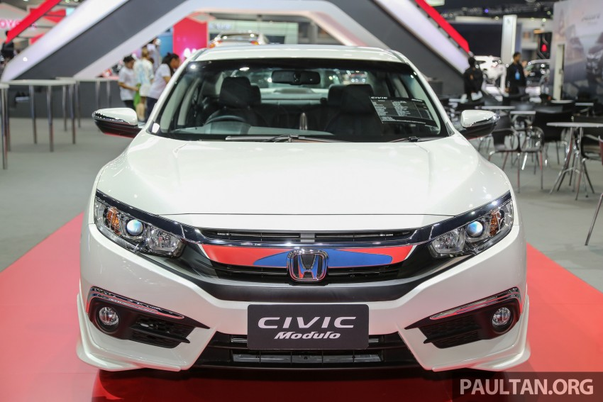 GALLERY: 2016 Honda Civic with Modulo accessories Image #464041