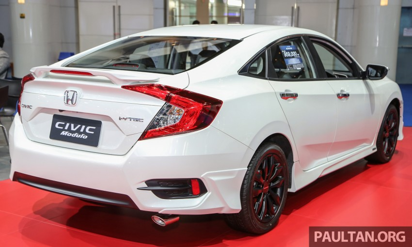 Back to Story: GALLERY: 2016 Honda Civic with Modulo accessories