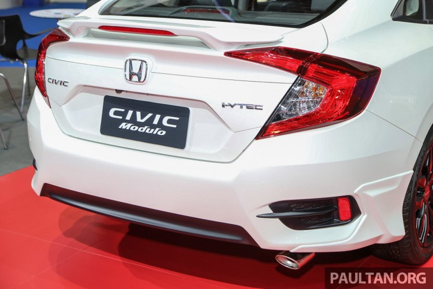 GALLERY: 2016 Honda Civic with Modulo accessories Image #464052