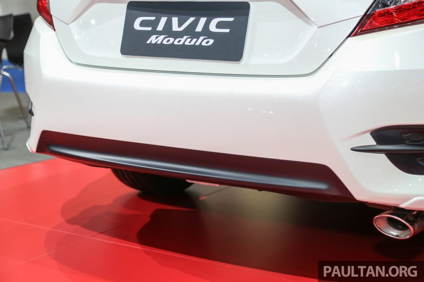 GALLERY: 2016 Honda Civic with Modulo accessories Image #464054