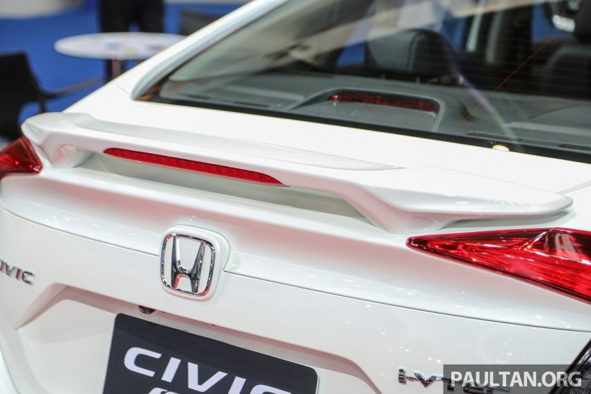 GALLERY: 2016 Honda Civic with Modulo accessories Image #464055