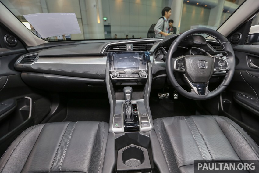 GALLERY: 2016 Honda Civic with Modulo accessories Image #464056