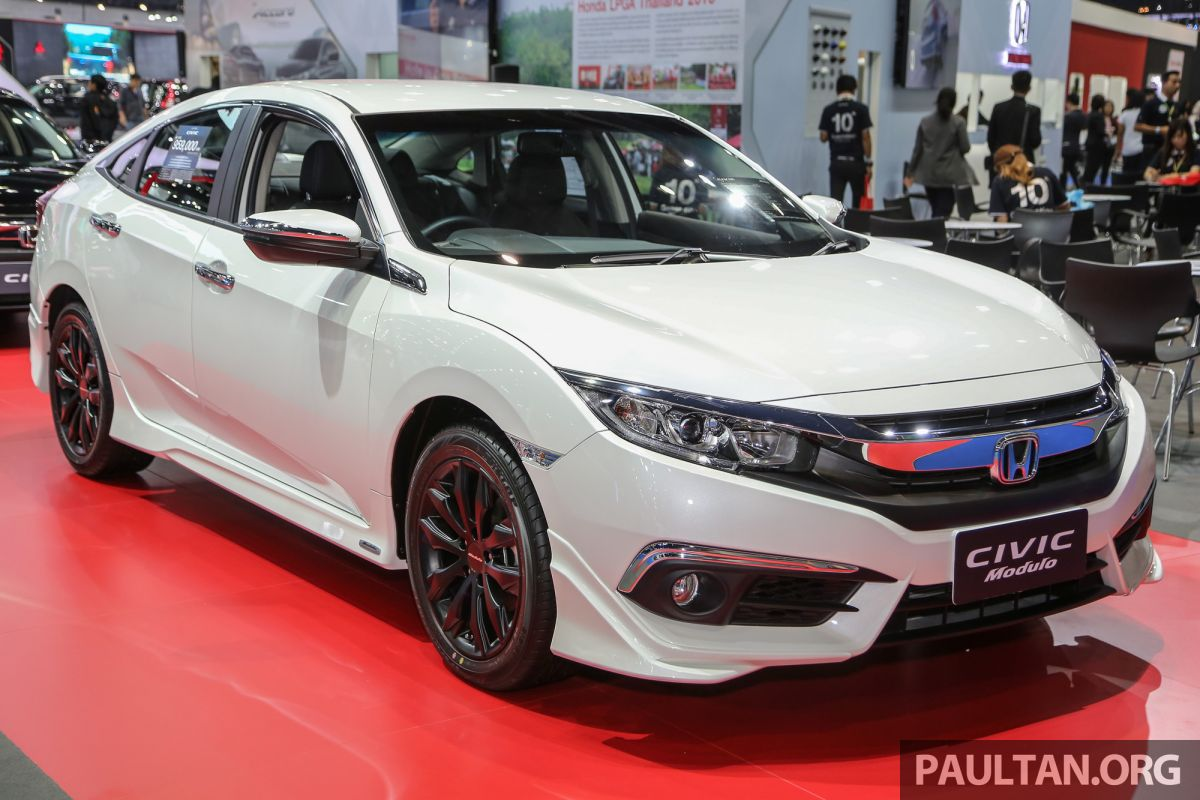 gallery 2016 honda civic with modulo accessories. Black Bedroom Furniture Sets. Home Design Ideas