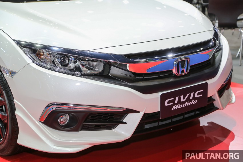 GALLERY: 2016 Honda Civic with Modulo accessories Image #464043