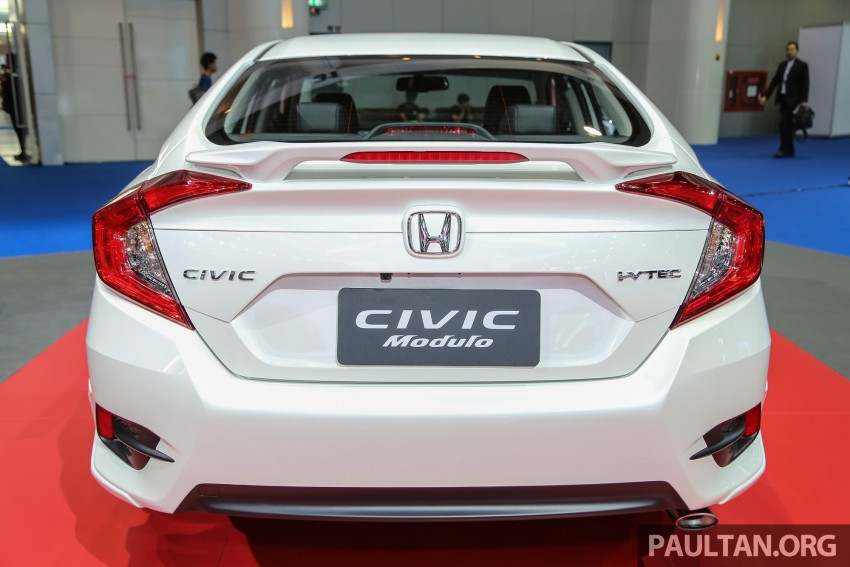GALLERY: 2016 Honda Civic with Modulo accessories Image #464050