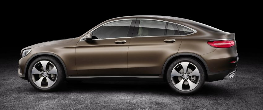 Mercedes-Benz GLC Coupe breaks cover in New York Image #515949
