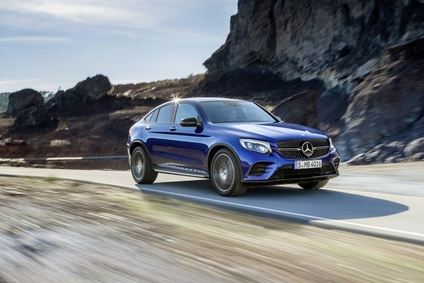 Mercedes-Benz GLC Coupe breaks cover in New York Image #515953
