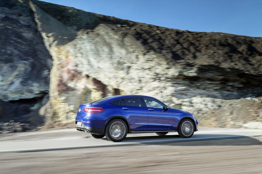 Mercedes-Benz GLC Coupe breaks cover in New York Image #515954