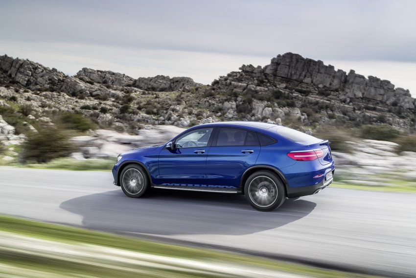 Mercedes-Benz GLC Coupe breaks cover in New York Image #515956