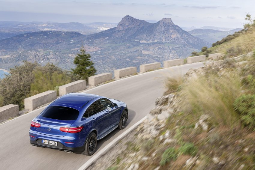 Mercedes-Benz GLC Coupe breaks cover in New York Image #515957