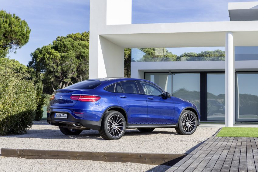 Mercedes-Benz GLC Coupe breaks cover in New York Image #515960