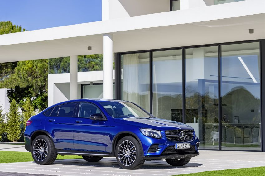 Mercedes-Benz GLC Coupe breaks cover in New York Image #515961