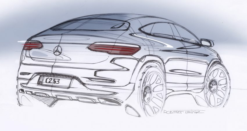 Mercedes-Benz GLC Coupe breaks cover in New York Image #515964