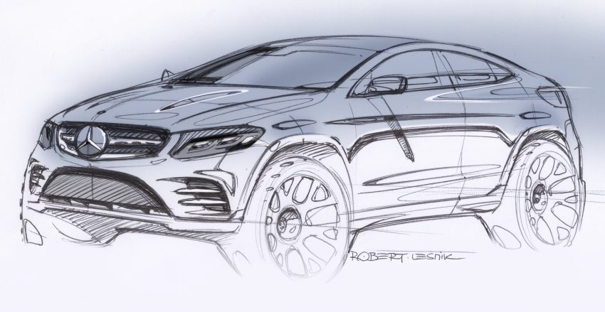 Mercedes-Benz GLC Coupe breaks cover in New York Image #515965