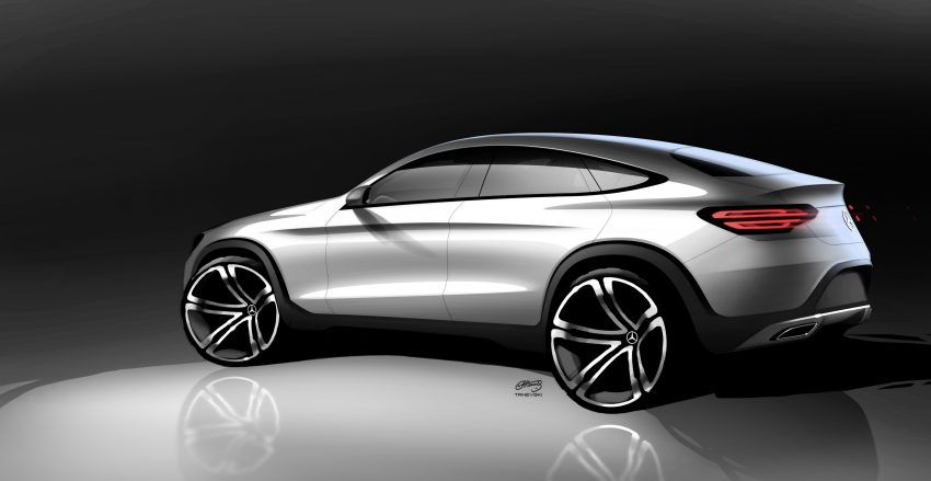 Mercedes-Benz GLC Coupe breaks cover in New York Image #515968