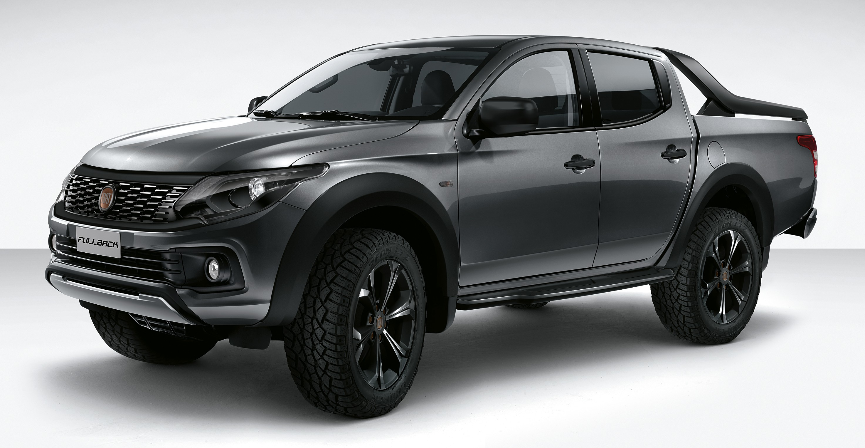 fiat fullback show car debuts as a lifestyle truck. Black Bedroom Furniture Sets. Home Design Ideas