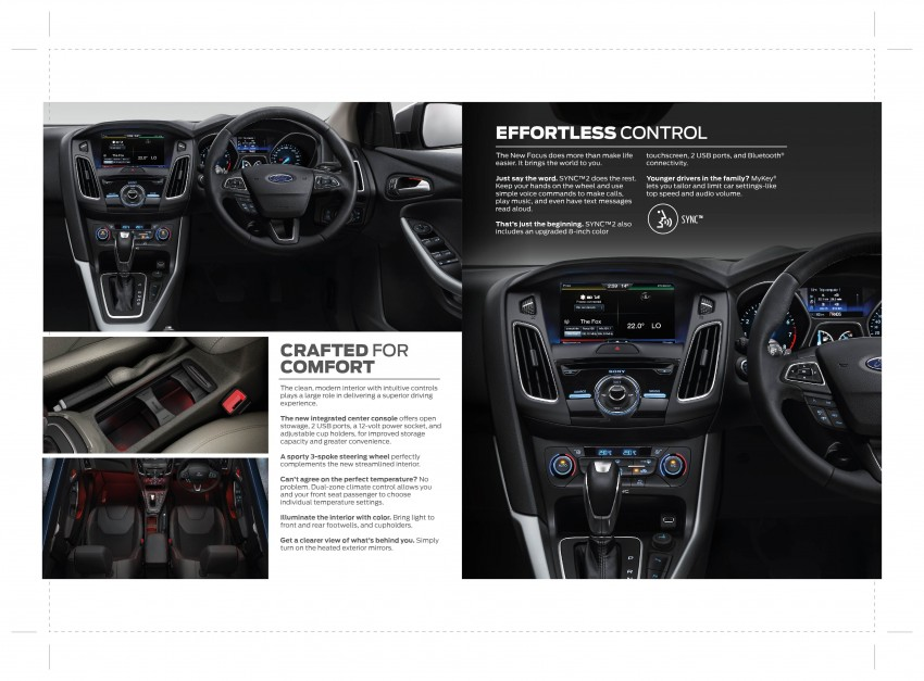 C346 Ford Focus facelift launched in Malaysia – Trend, Sport+ hatch and Titanium+ sedan, from RM119k Image #458542
