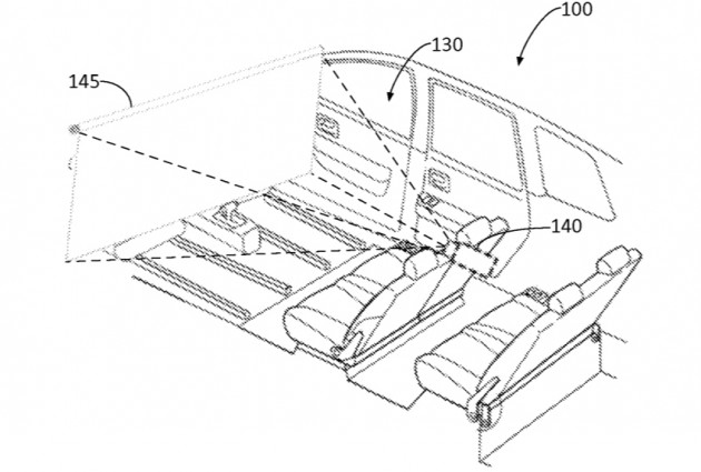 Ford Autonomous vehicle entertainment system patent-01