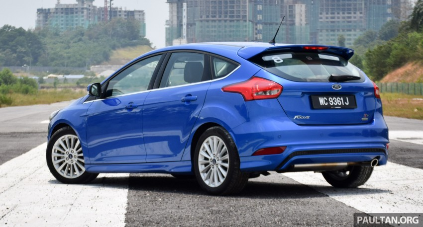 DRIVEN: 2016 Ford Focus 1.5L EcoBoost – first impressions of Malaysian-spec Sport+ and Titanium+ Image #459301
