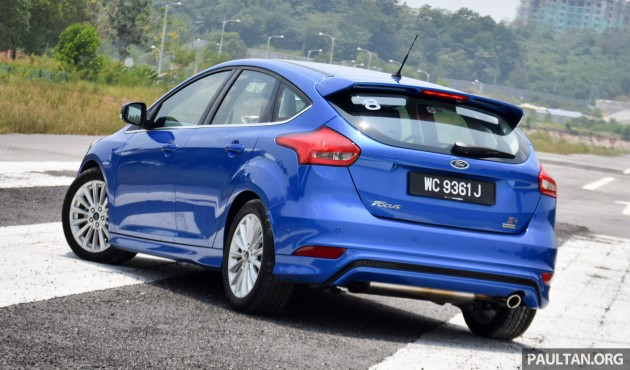 Ford Focus 1.5L EcoBoost quick drive 5
