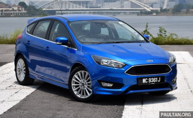 Ford Focus 1.5L EcoBoost quick drive 8