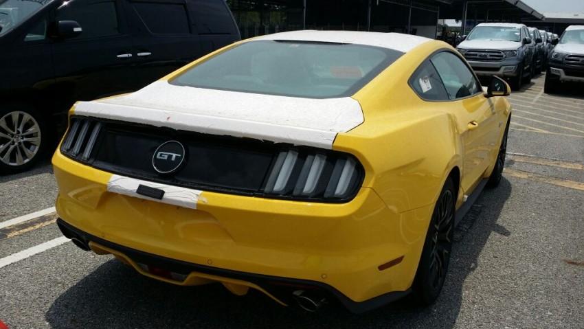 Ford Mustang 2016 baharu dijumpai di Malaysia Image #467228