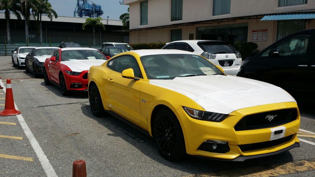 Ford Mustang 2016 >> Ford Mustang 2016 baharu dijumpai di Malaysia Paul Tan - Image 467224
