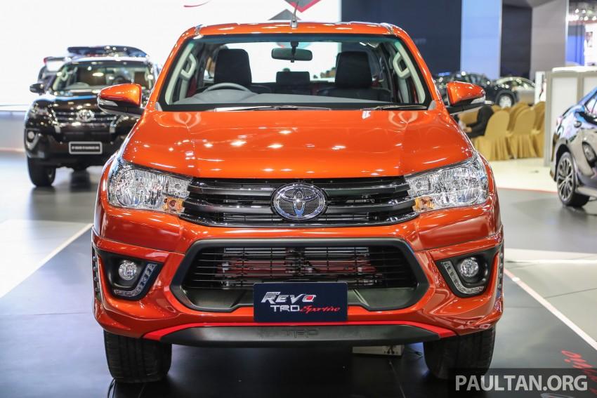 Toyota Hilux TRD Sportivo baharu lebih sporty diperkenalkan di Bangkok Motor Show 2016 Image #464476