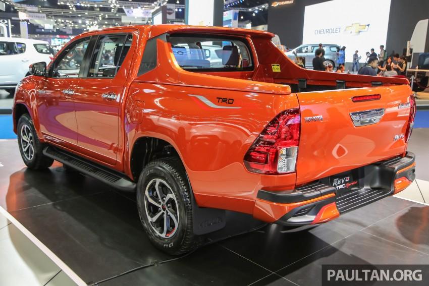 Toyota Hilux TRD Sportivo baharu lebih sporty diperkenalkan di Bangkok Motor Show 2016 Image #464486