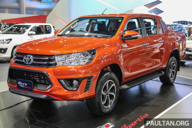 new toyota hilux trd sportivo introduced in bangkok