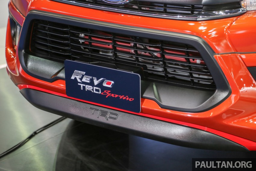 Toyota Hilux TRD Sportivo baharu lebih sporty diperkenalkan di Bangkok Motor Show 2016 Image #464480