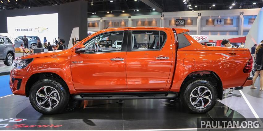 Toyota Hilux TRD Sportivo baharu lebih sporty diperkenalkan di Bangkok Motor Show 2016 Image #464481
