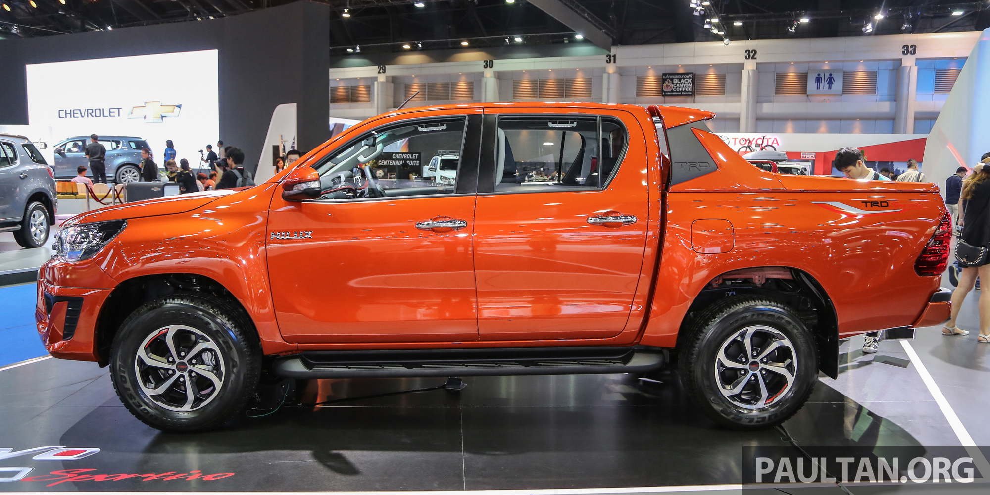Back to Story: New Toyota Hilux TRD Sportivo introduced in Bangkok