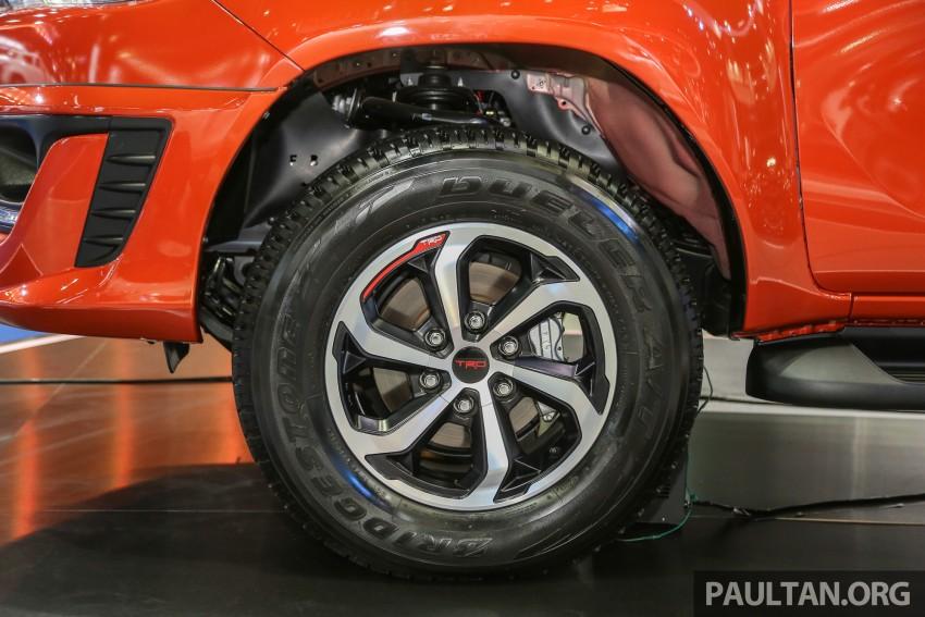 Toyota Hilux TRD Sportivo baharu lebih sporty diperkenalkan di Bangkok Motor Show 2016 Image #464482