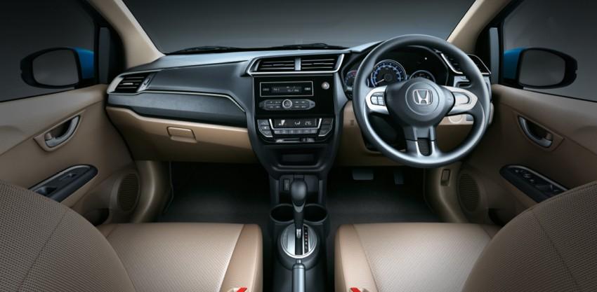 Honda Brio Amaze sedan facelift makes debut in India Image #454915