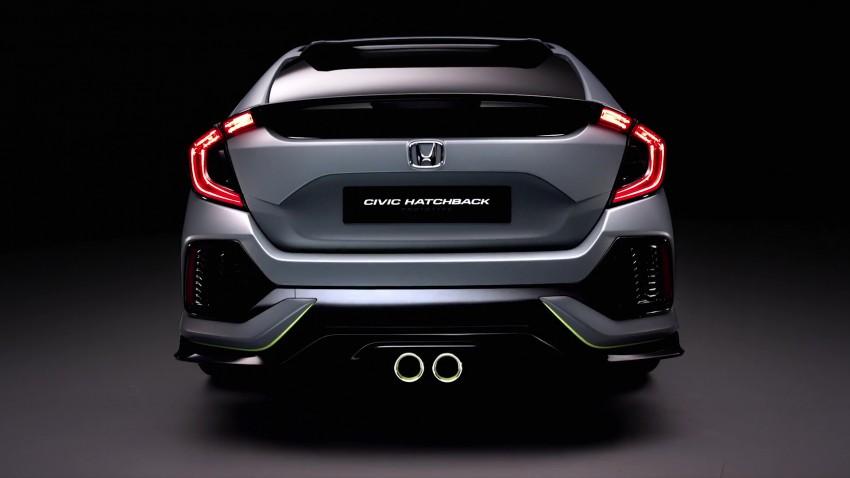 Honda Civic Hatchback membuat penampilan sulung di Geneva Motor Show – bakal dilancar pada 2017 Image #452102