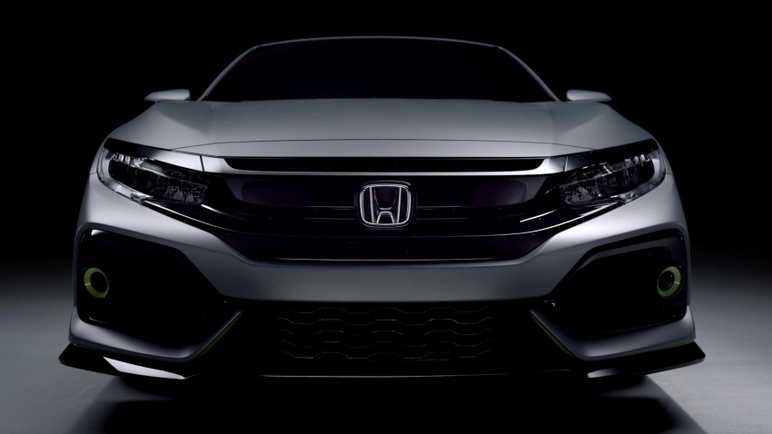 Honda Civic Hatchback Prototype goes live in Geneva; early 2017 launch for Europe, US market to follow Image #451734