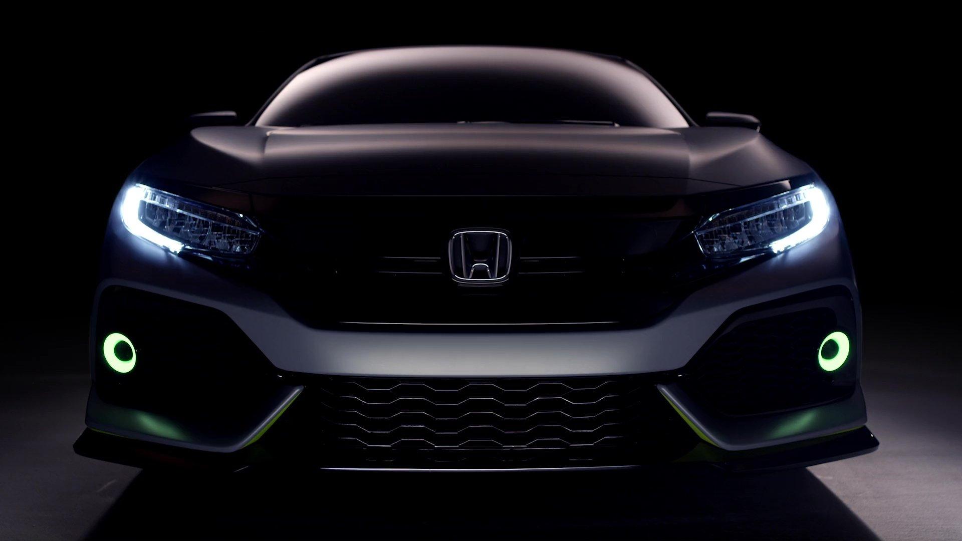 Honda Civic Hatchback Prototype Goes Live In Geneva Early